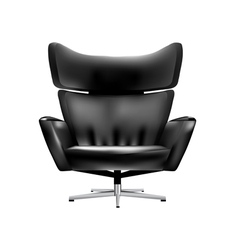 chair office vector image vector image