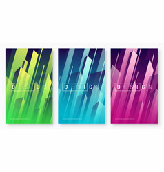 Abstract dynamic geometric backgrounds vector