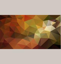 Abstract irregular polygonal background autumn vector