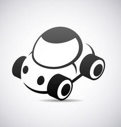 Automobile icon vector image