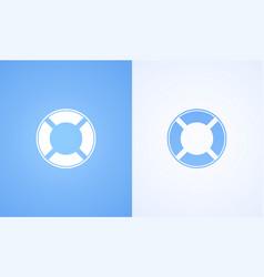 Icon of lifebuoy vector