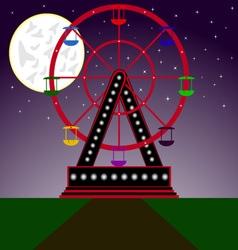 Night ride 01 vector