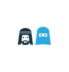 People colorful icon symbol premium quality vector