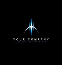 Sci fi design logo vector