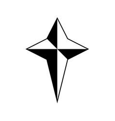 Star icon vector