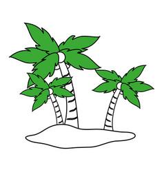 island icon design vector image
