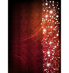 Abstract design technology style background vector