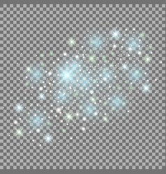 Abstract galaxy aqua vector
