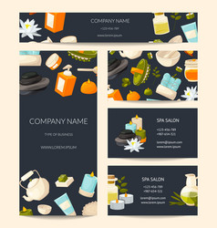 Branding identity set for beauty and spa vector