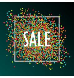 Celebration sale vector
