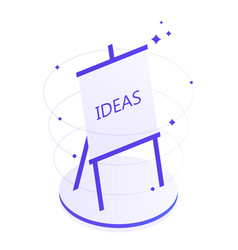creative thinking and brainstorming vector image