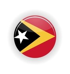 East Timor icon circle vector image