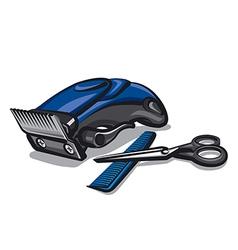 hairclipper vector image