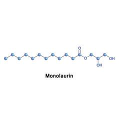 Monolaurin glycerol monolaurate vector