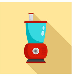 Small food mixer icon flat style vector