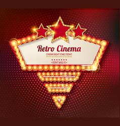 movie time cinema premiere poster design vector image