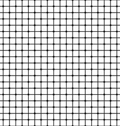 Seamless monochrome mesh pattern vector image vector image