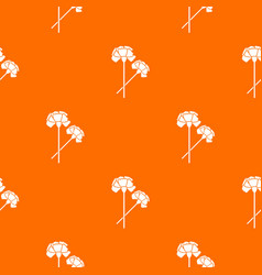 Carnation pattern seamless vector