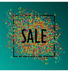 celebration sale1 vector image
