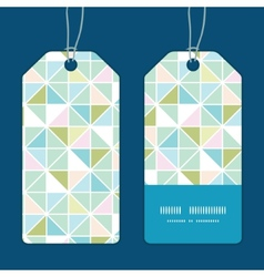 Colorful pastel triangle texture vertical stripe vector