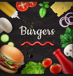 Culinary background vector