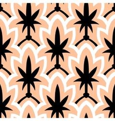 Hand drawn art deco pattern vector