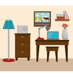 Hotel products and services design vector