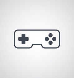 joystick game console vector image