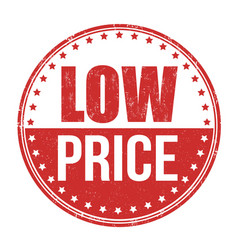 Low price stamp vector