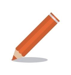 Orange color instrument design vector image
