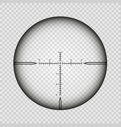 sniper scope cross vector image