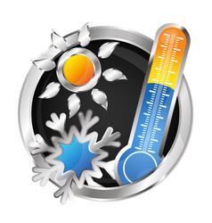 symbol air conditioner vector image
