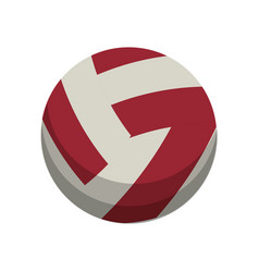 Volleyball ball sport equipment vector