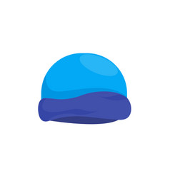 winter hat icon design template isolated vector image