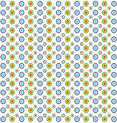 Circle background in colorful vector