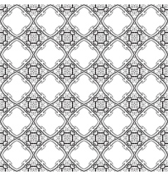 Black and White graphic pattern abstract backgroun vector image