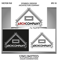 Arch Company Logo Template vector