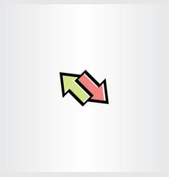 arrows symbol sign clip art vector image