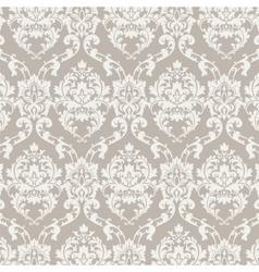 Classic luxury damask pattern vector