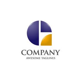 creative letter g logo vector image
