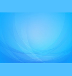 curved abstract light blue background vector image