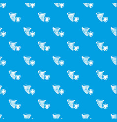 hurricane protection pattern seamless blue vector image