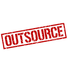 Outsource stamp vector