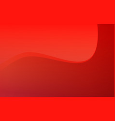 Rich red background with light gradient and vector