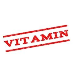 Vitamin Watermark Stamp vector