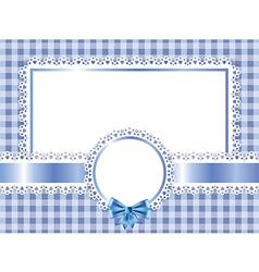 children frame horizontal vector image
