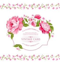 Luxurious invitation card vector