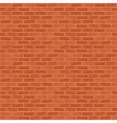 Seamless Brick Wall vector image vector image