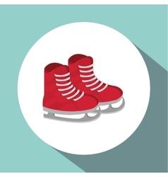 Winter design Season icon Colorfull vector image vector image