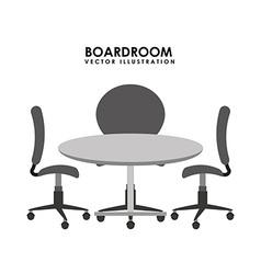 boardroom vector image